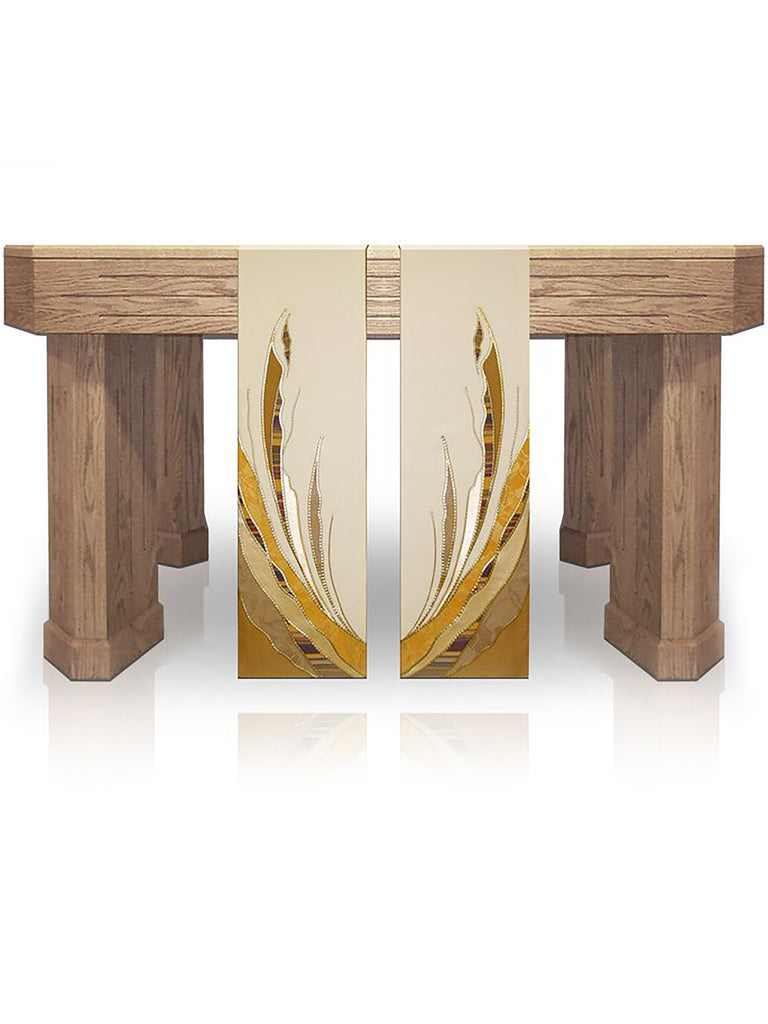 Paintbrush Gold Altar Scarves