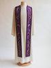 art nouveau purple stole advent and lent