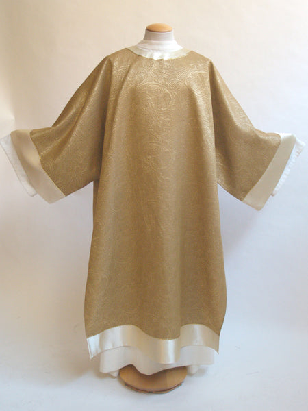 gold dalmatic for easter and christmas