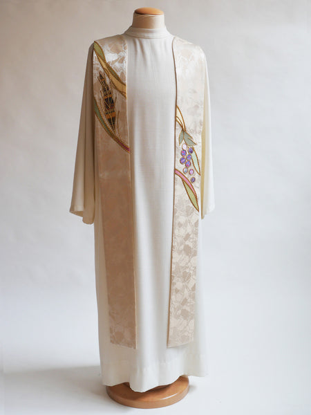 eucharistic stole for easter and christmas
