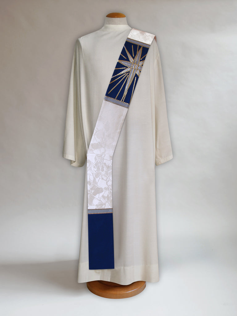 Star of Bethlehem Deacon Stole
