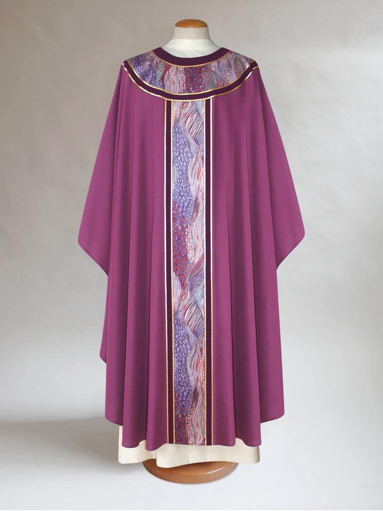 Advent Classic Round Yoke Chasuble