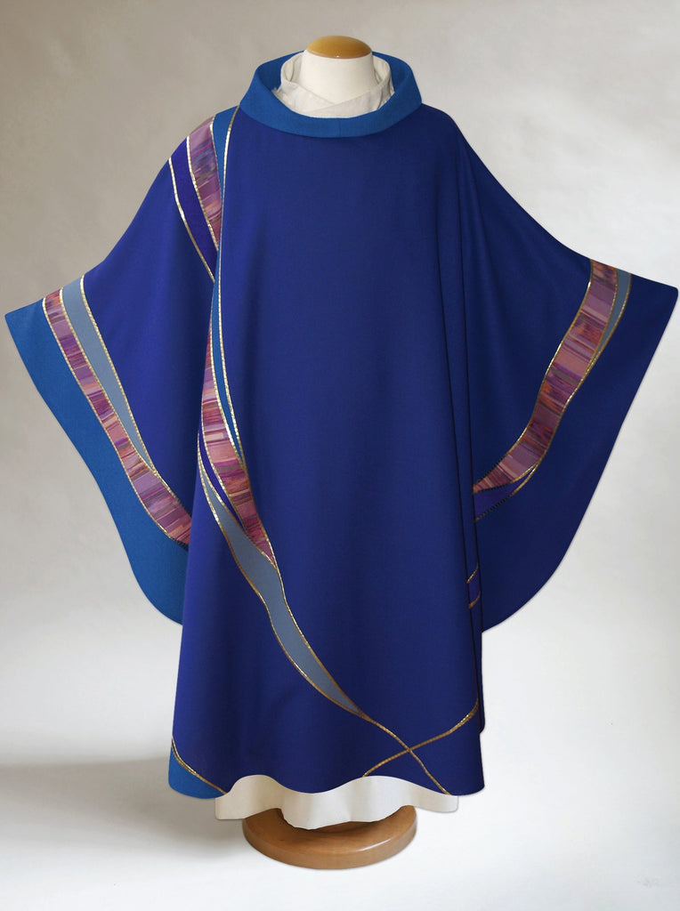 Advent Curvilinear Chasuble
