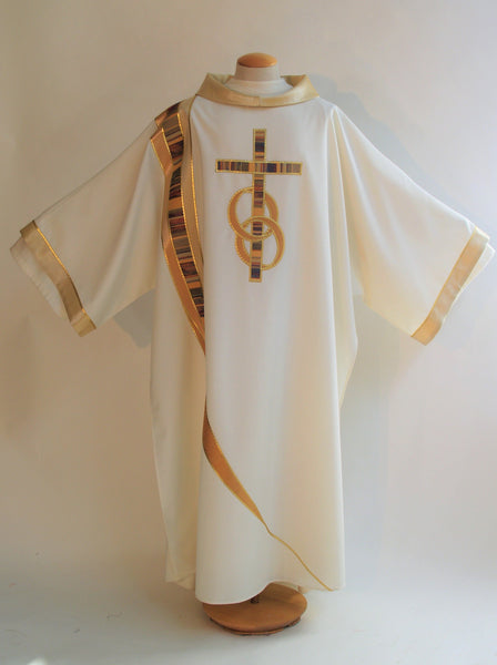 Dalmatic with Rings & Cross