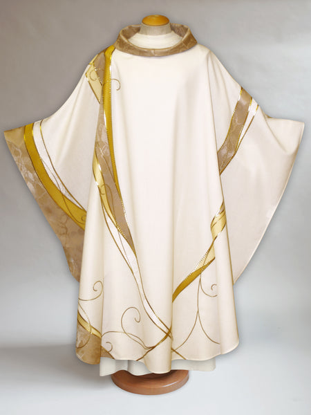 Christmas Curvilinear Chasuble