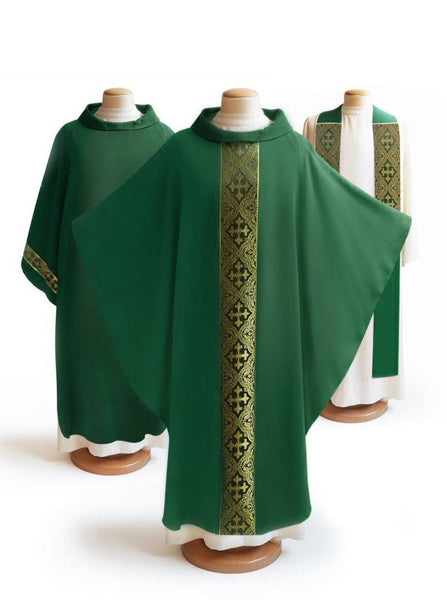 The Francis Classic Duomo Green & Brocade Green Collection