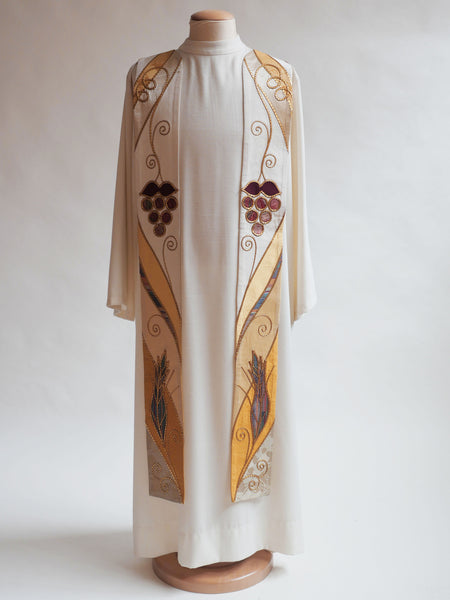 eucharistic stole easter and christmas
