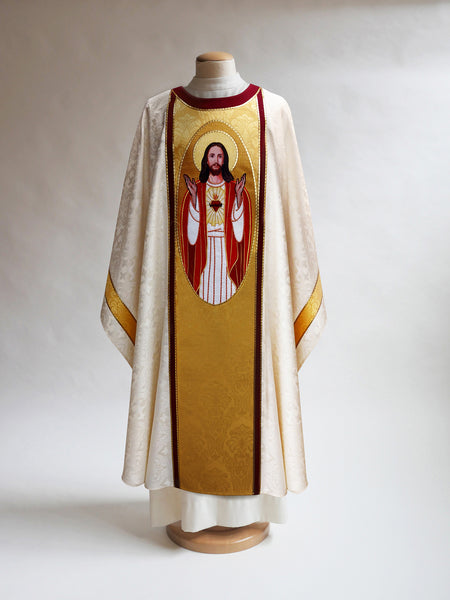 The Sacred Heart Chasuble