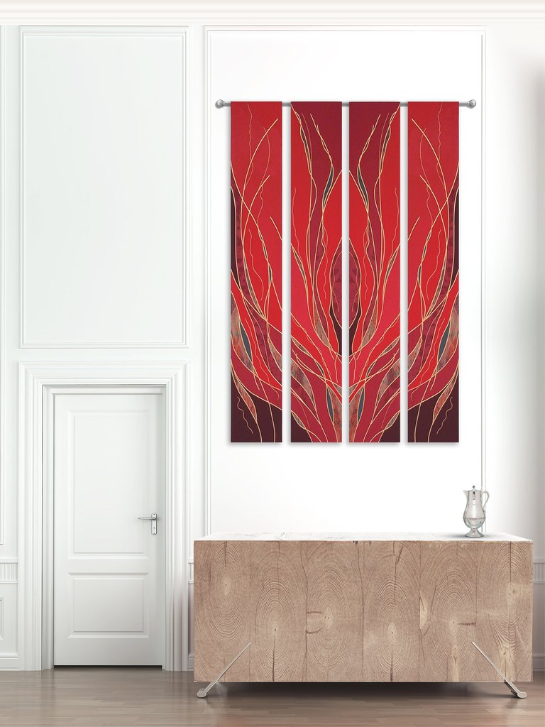 Pentecost Flames Printed Banners
