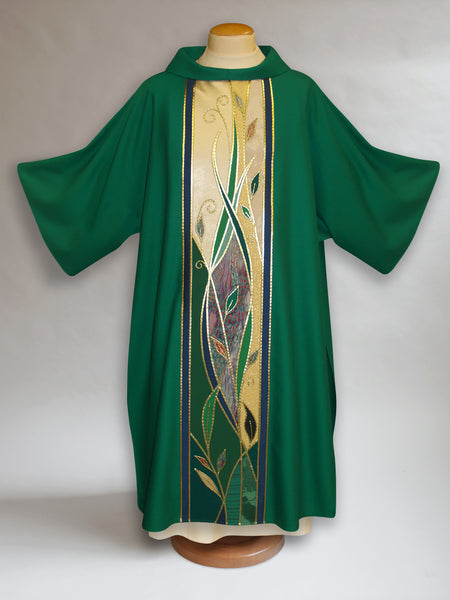 Green Foliage Dalmatic