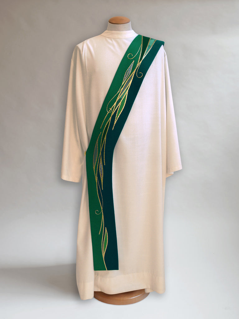 Willow Leaf Foliage Deacon Stole