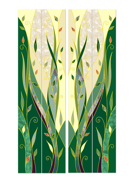Ordinary Time Foliage Printed Banners