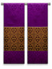 The Francis Classic Cross Purple & Brocade Burgundy <br> Altar Scarves