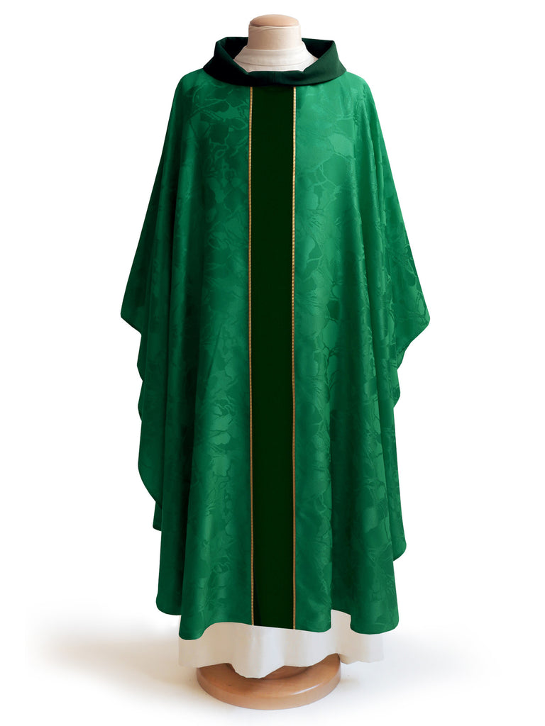 The Francis Classic Bella Green Chasuble