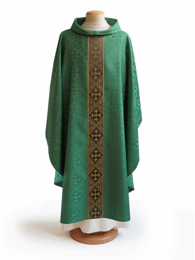 The Francis Classic Cross Green & Brocade Green Collection
