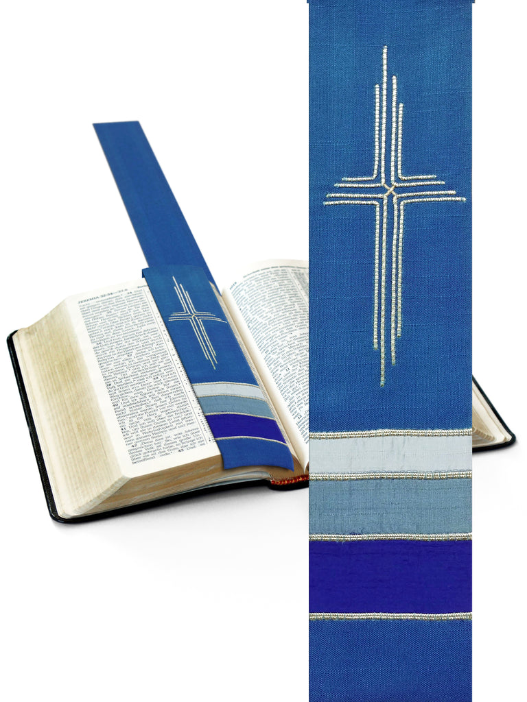 Bible Marker in Blue