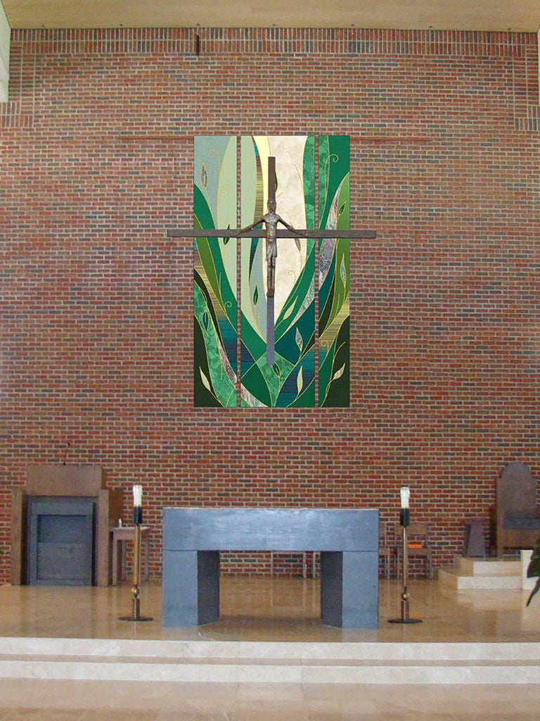 Ordinary Time Foliage Green Hangings