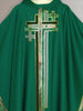 Multi Cross Green Chasuble (B)
