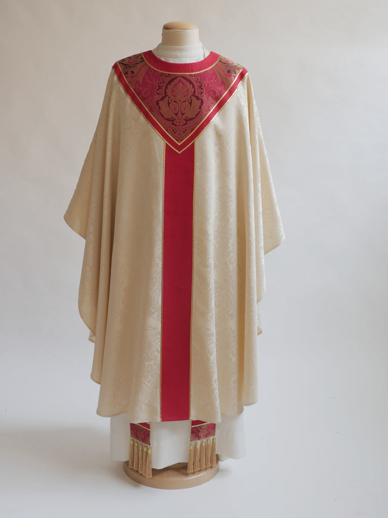 Barcelona Red Sample Chasuble