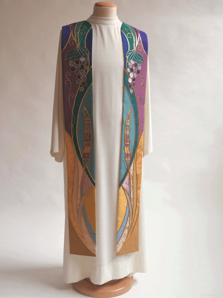 Multicolored Eucharistic Sample Stole