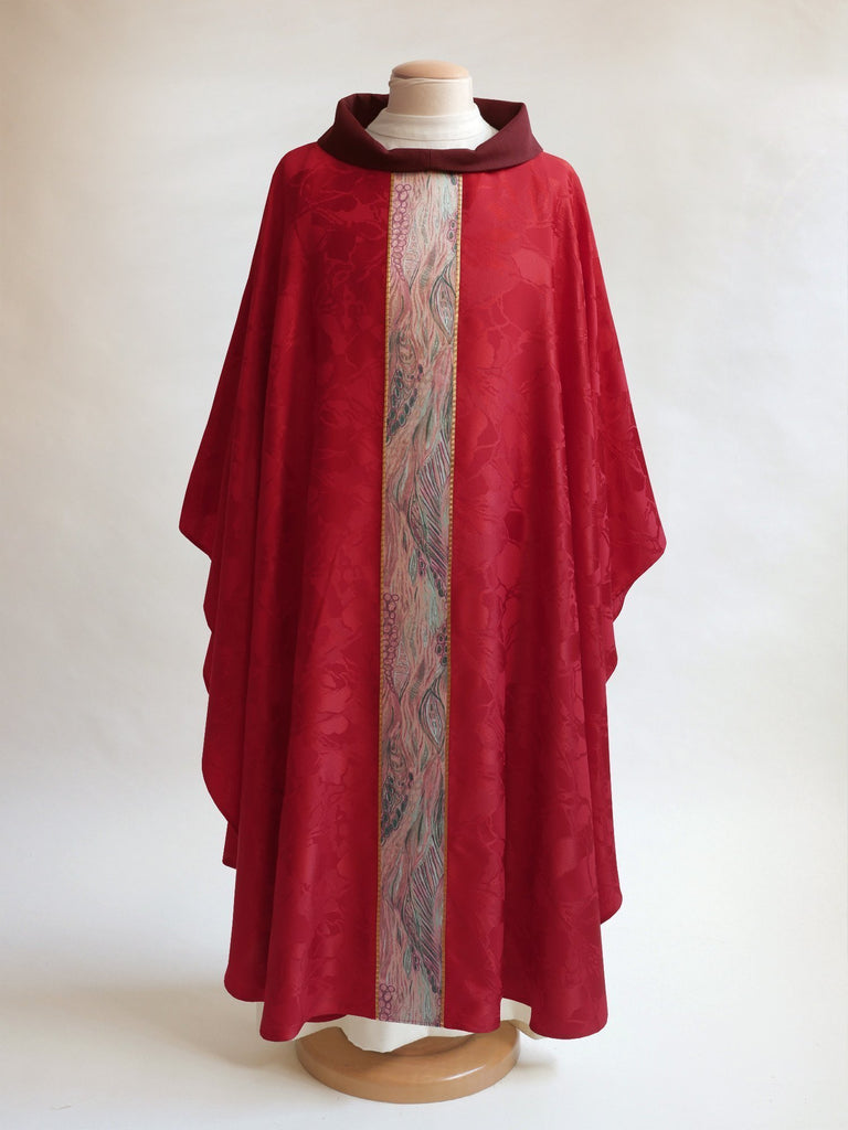red monet chasuble