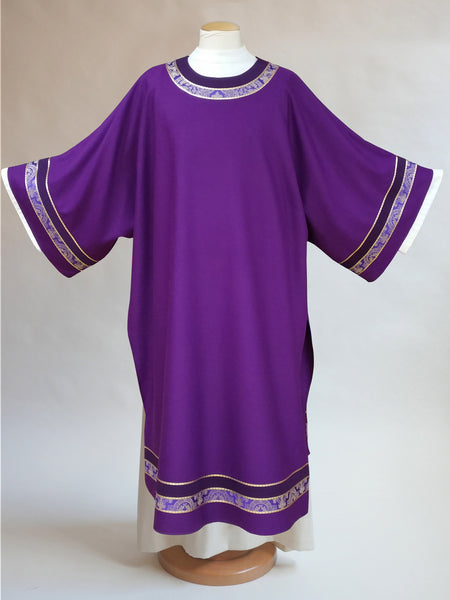 purple monet dalmatic for advent and lent