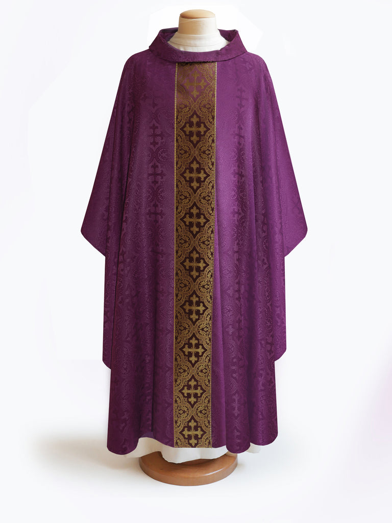The Francis Classic Cross Purple & Brocade Burgundy Collection