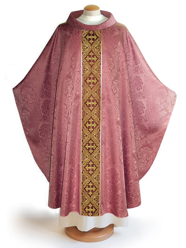 The Francis Classic Baroque Rose & Brocade Burgundy Collection