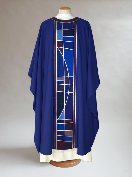 Stained Glass Advent Chasuble