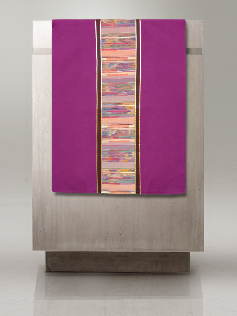 Seurat Purple Lectern Hanging