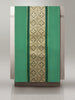 Classic Green Brocade and Vista Sample Lectern Hanging