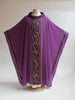 purple vestment art nouveau for advent or lent