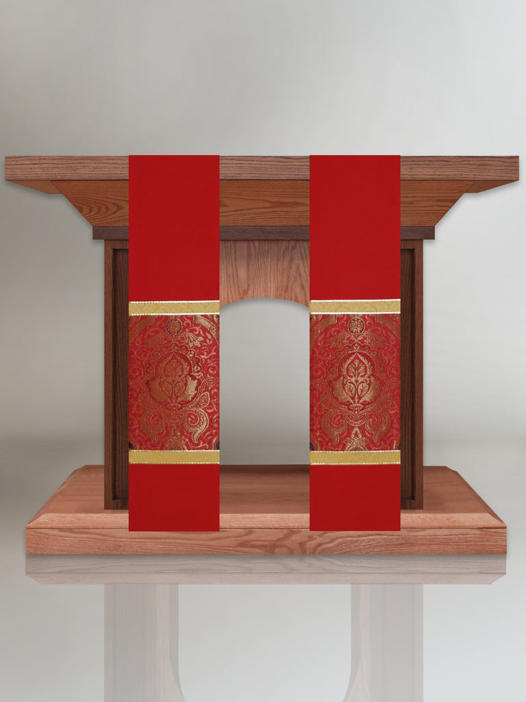 Classic Barcelona Red Altar Scarves