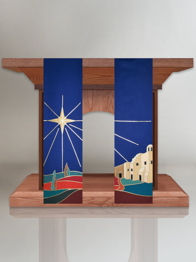 Christmas Star Altar Scarves