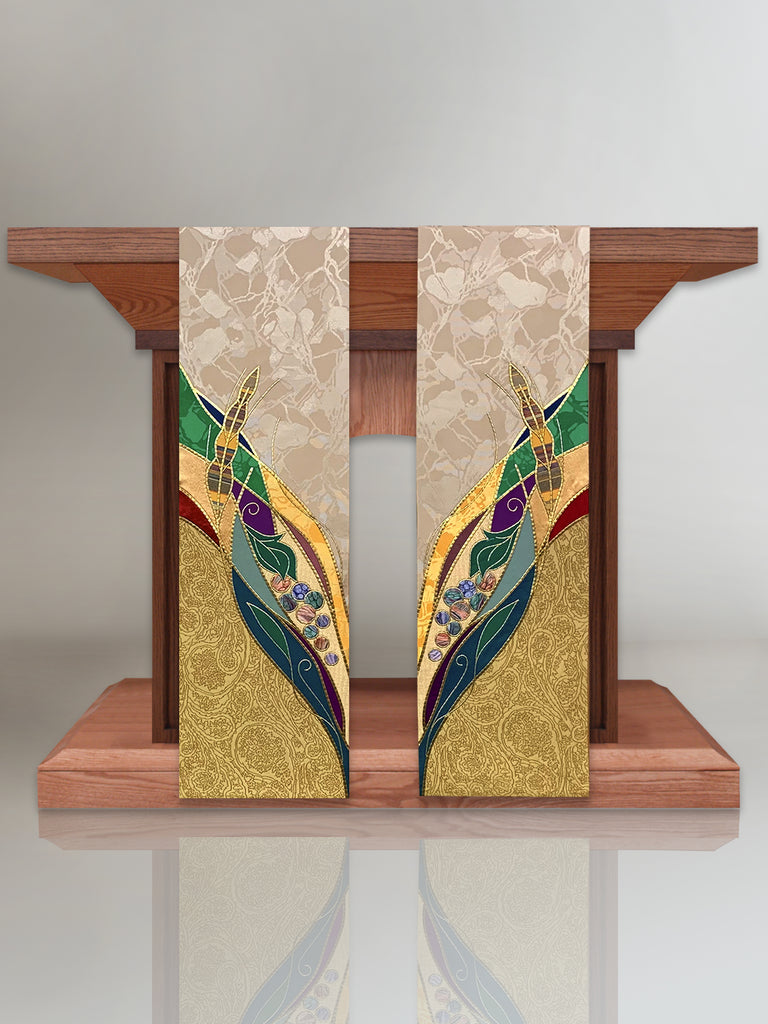 Eucharistic Gold Altar Scarves (B)