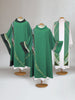 Curvilinear Green Vestment Collection
