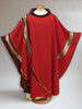 Curvilinear Red Chasuble