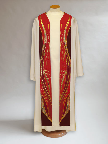 Pentecost Flame Stole (A)