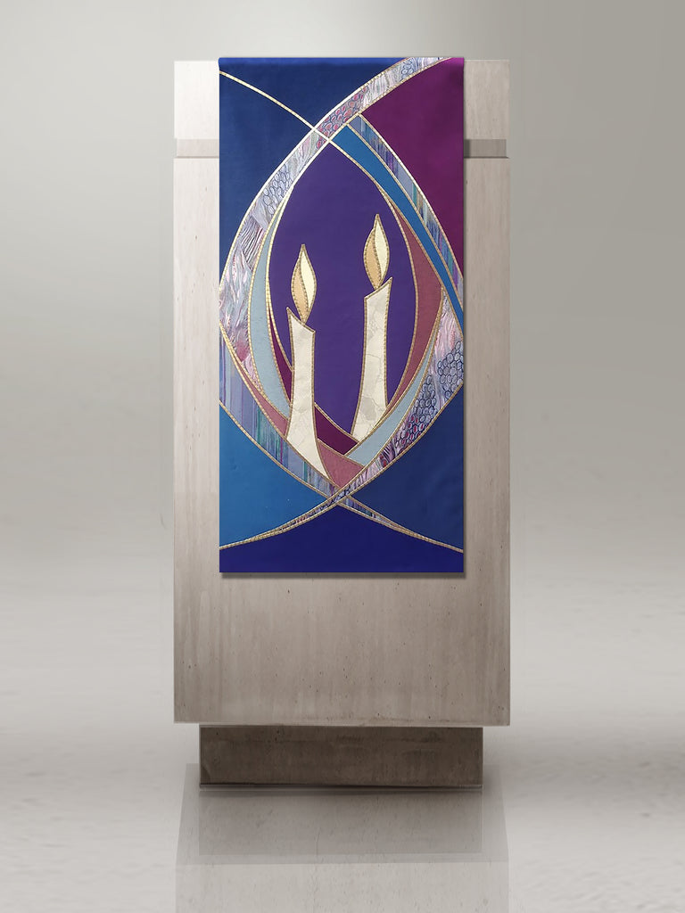 Advent Candle Sample Lectern Hanging