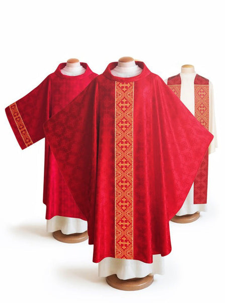 The Francis Classic Lucia Red & Brocade Red Collection