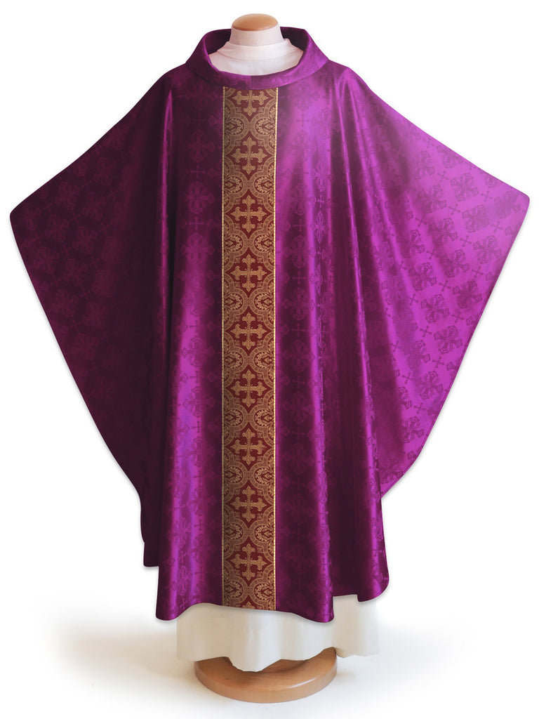The Francis Classic Lucia Purple & Brocade Burgundy Collection