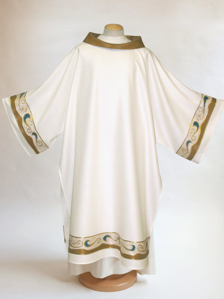 art nouveau dalmatic for easter and christmas
