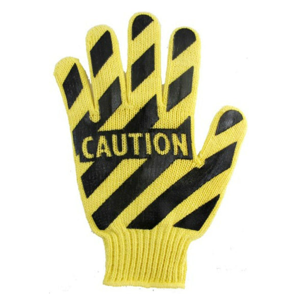 Caution Work Gloves, Gloves, Midnight's Attic - Midnight's Attic