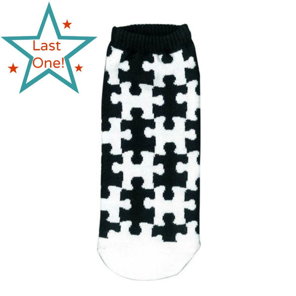 Puzzle Ankle Socks