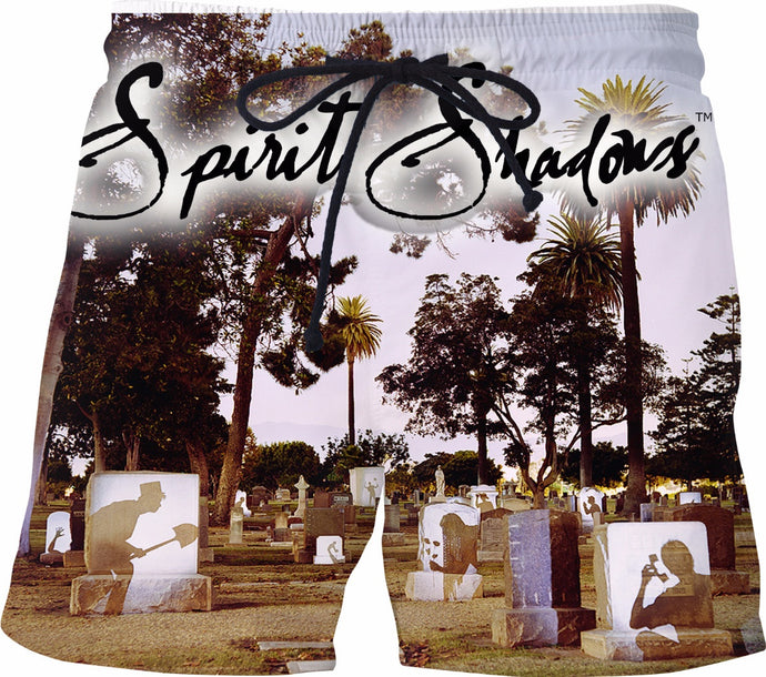 Graveyard Spirits Swim Shorts
