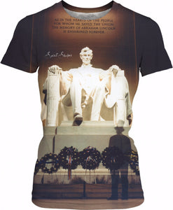 Young Mr. Lincoln Women's T-Shirt