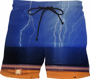 Ocean Lightning Swim Shorts