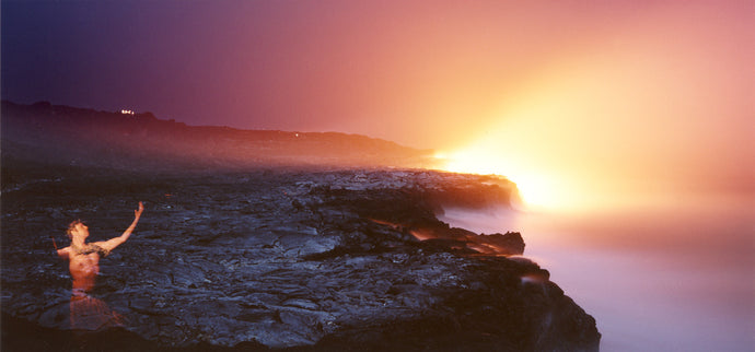 Lava Spirit by the Ocean