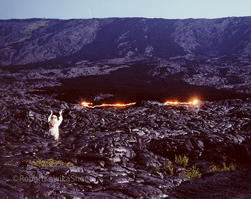 Madame Pele Reignites an Old Lava Flow