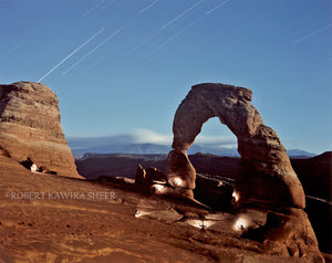 Spirit Sculptors at Delicate Arch